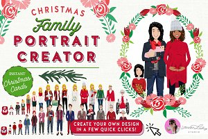 Christmas Family Portrait Creator