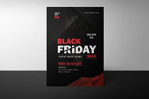 Black Friday Sale Flyer-V884