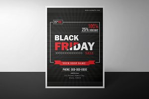 Black Friday Sale Flyer-V885