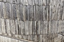 damaged old pine shed by  in Architecture