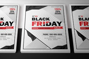 Black Friday Sale Flyer-V886