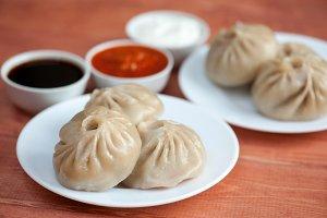 Buuza poza is a Buryat national dish