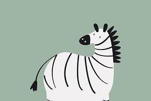 Illustration of cute animal