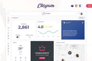Elisyam - Admin Dashboard Template