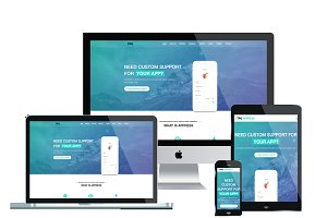 TPG Appress WordPress App theme