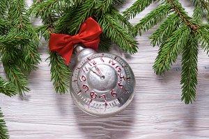 Christmas tree ornament, vintage ala