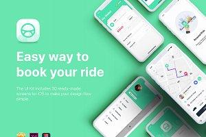 Aber - Taxi Mobile UI Kit