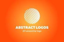 20 abstract logo