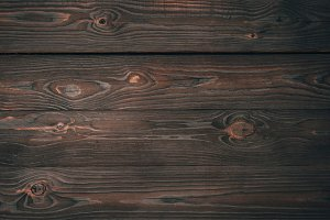 top view of dark wooden planks, wood