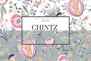 Chintz #02, Seamless Print & Motifs