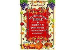 Friendsgiving potluck dinner, turkey