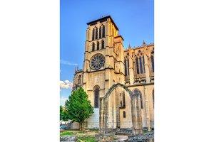 Saint John Cathedral of Lyon, France