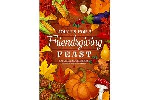 Friendsgiving feast, Thanksgiving