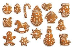 Gingerbread cookies, Christmas