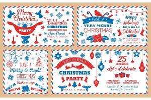 Christmas party envelopes