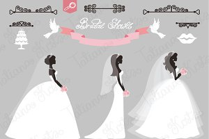 Wedding Bridal shower elements