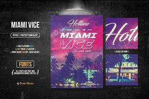 Miami Vice - Flyer / Poster