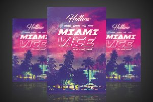 Miami Vice - Flyer / Poster