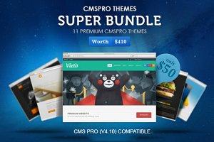 CMS Pro Premium Themes Super Bundle