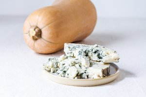 Butternut and Blue Cheese