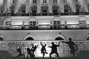 Kazan city group dancing