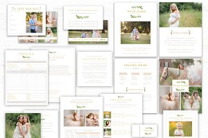 Photography Marketing Kit Templates
