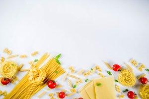 Italian pasta assortment