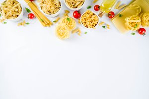 Italian pasta assortment
