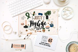 Autumn and winter hygge collection