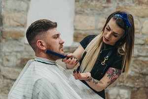 Human occupation hairdresser