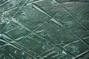 Dark green painted wooden background