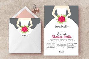 Bridal Shower Invite Templates 01