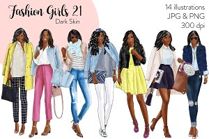 Fashion Girls 21 - Dark Skin