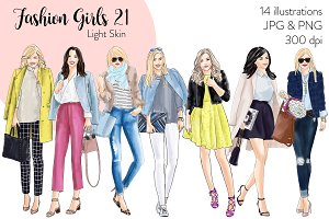 Fashion Girls 21 - Light Skin