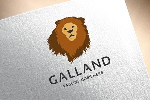 Galland Lion Logo