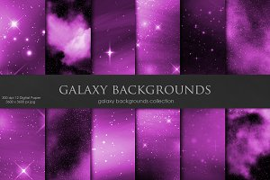 Galaxy, Space Pink Backgrounds