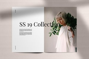 LookBook Minimal Fashion Template