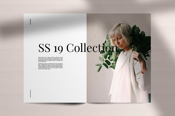 Magazine Templates: Wild Ones - LookBook Minimal Fashion Template