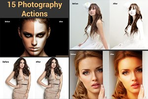 15 Photography Actions