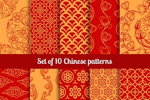 Chinese seamless patterns