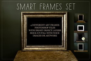 4 Mock Up Frames