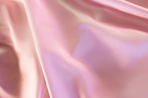 beige and pink shiny silky fabric ba