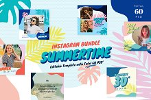Instagram Bundle - Summertime by  in Social Media