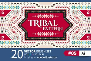 Tribal Pattern Brush #05