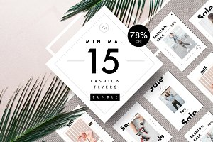 Fashion flyers bundle