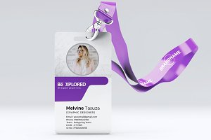 Corporate ID Card Template 03
