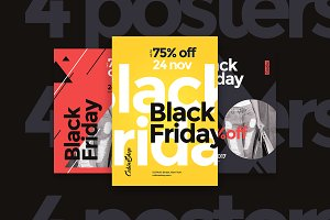 Black Friday Sale Flyer/Poster