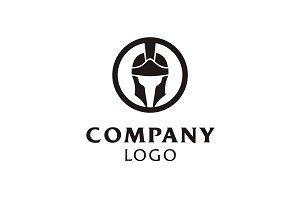 Roman/Rome Helmet Warrior Logo