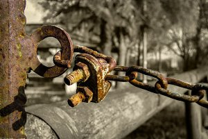 Chained to an uncomfortable reality
