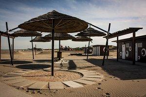 A Italian desert beach resort